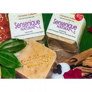 Cinnamon Coffee Handmade Soap