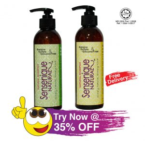 Ginger Orange & Peppermint Lime Natural Shampoo